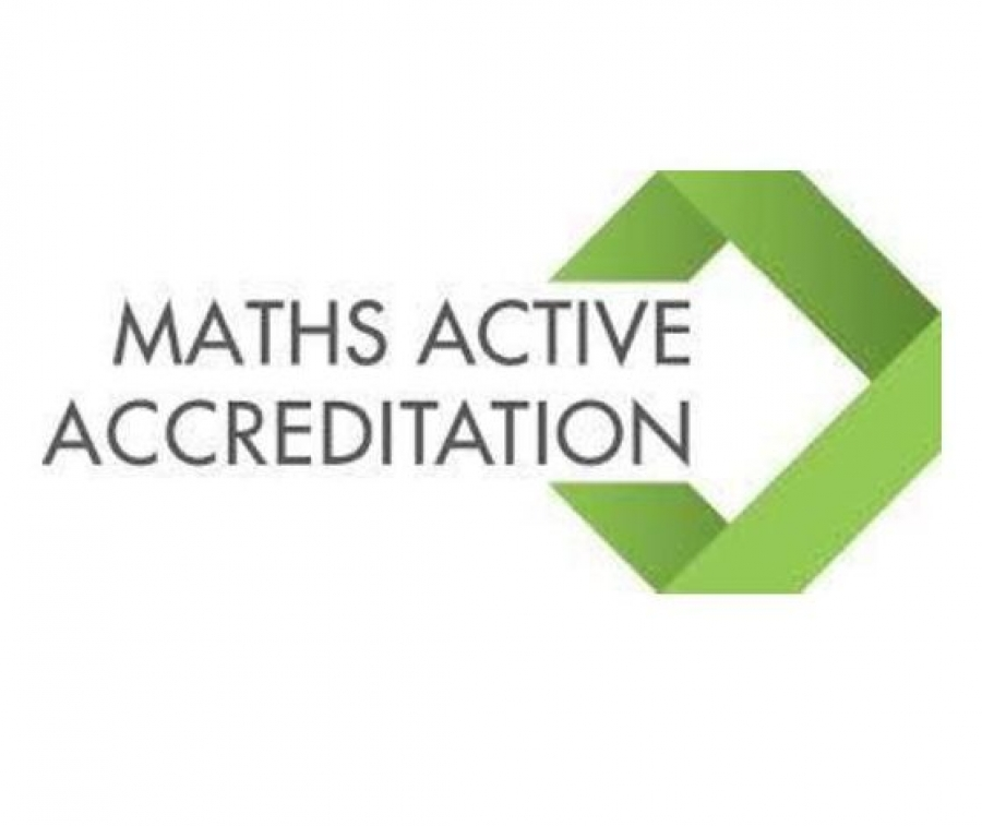 WE ARE A 'MATHS ACTIVE SCHOOL'